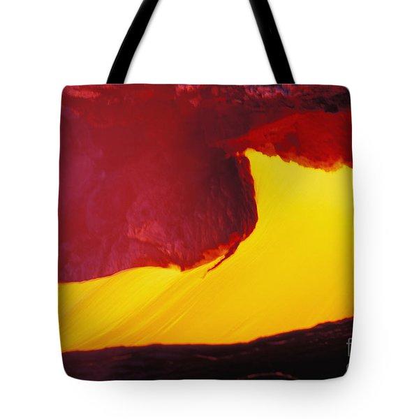 Lava Window Tote Bag by Erik Aeder - Printscapes
