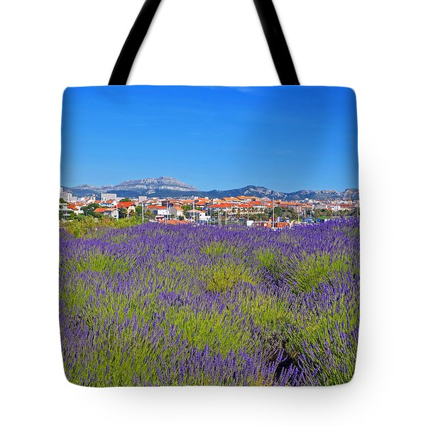 Lavendar Of Provence Tote Bag