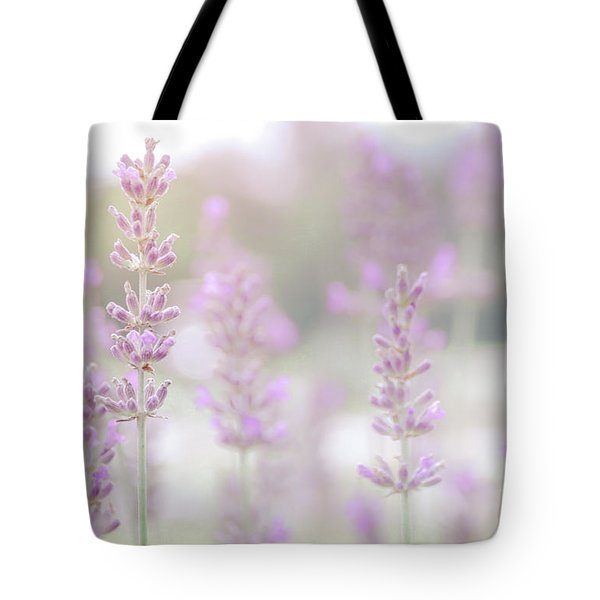 Tote Bag featuring the photograph Lavender 7  by Andrea Anderegg
