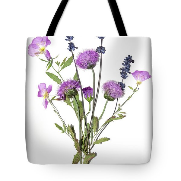 Lavender And Blue Tote Bag