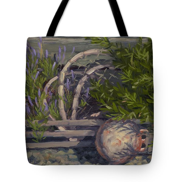 Lavender And Lobster Tote Bag