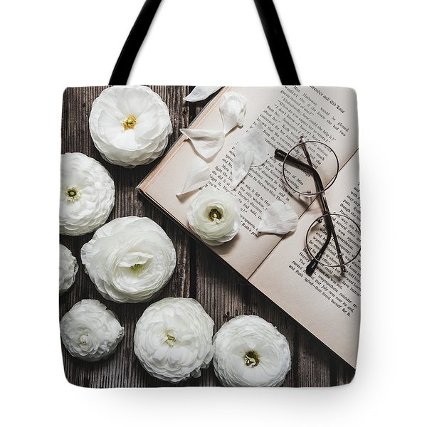 Tote Bag featuring the photograph Lavender And Old Lace by Kim Hojnacki
