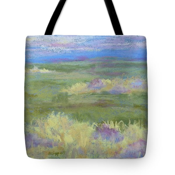 Lavender And Wheat Tote Bag