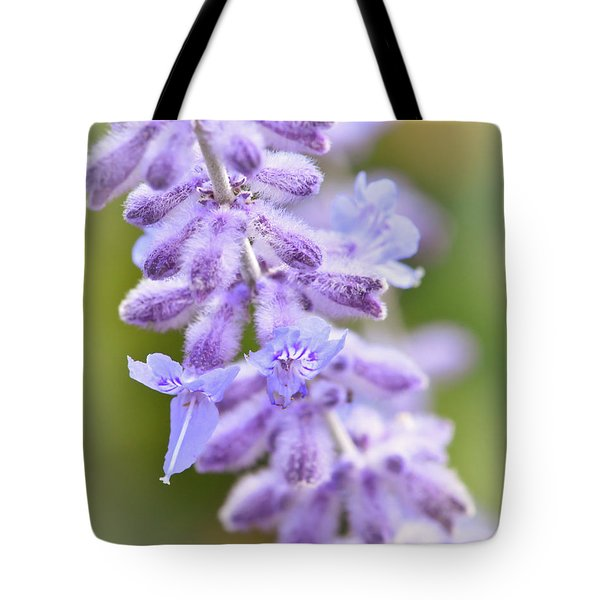 Tote Bag featuring the photograph Lavender Blooms by Kerri Farley