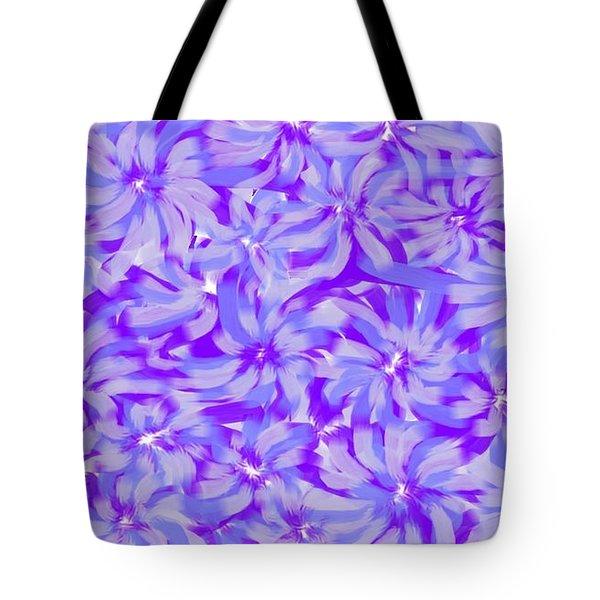Lavender Blue 1 Tote Bag
