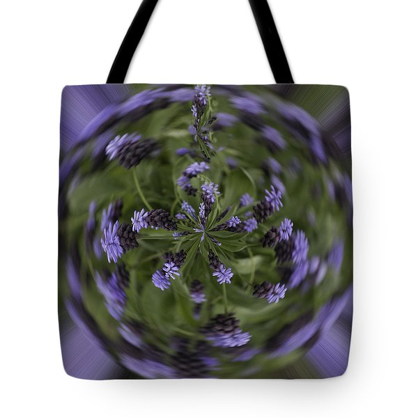 Lavender Blue Tote Bag