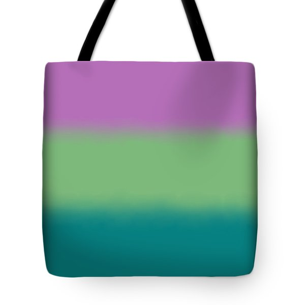 Lavender - Sq Block Tote Bag