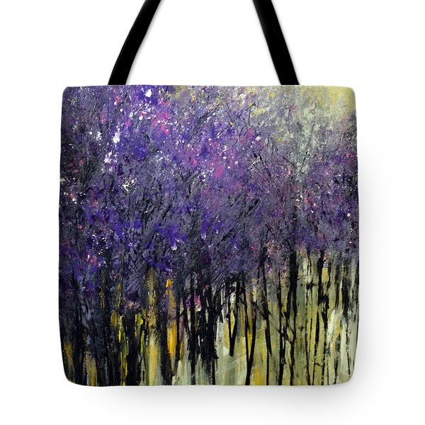 Lavender Dreams Tote Bag by Priti Lathia
