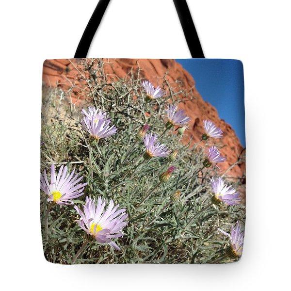 Lavender Drops Tote Bag