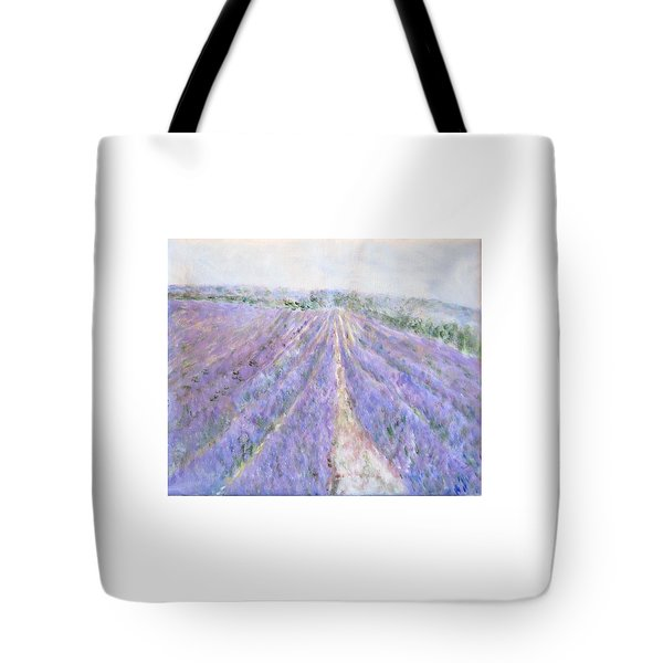 Lavender Fields Provence-france Tote Bag
