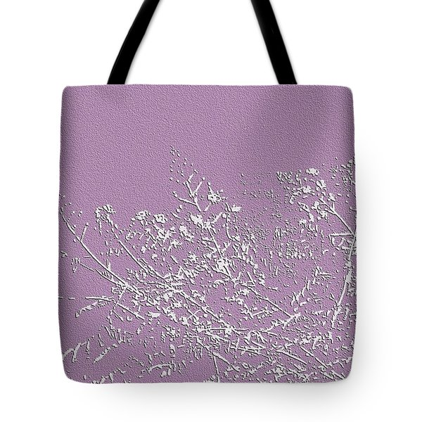 Tote Bag featuring the photograph Lavender Floral by Ellen Barron O'Reilly