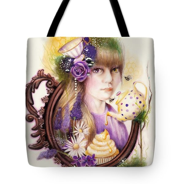 Lavender Honey Tote Bag by Sheena Pike