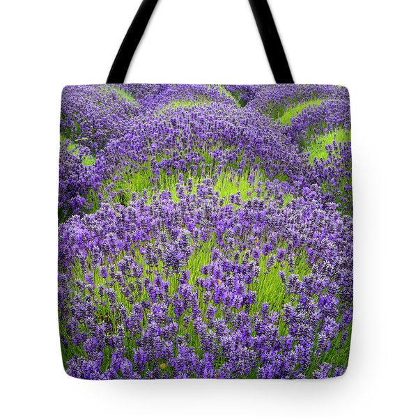 Lavender In Blooming Tote Bag