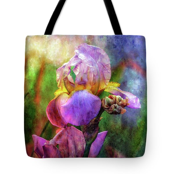 Lavender Iris Impression 0056 Idp_2 Tote Bag