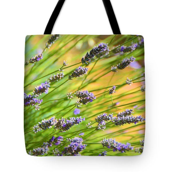 Lavender Tote Bag by Josephine Buschman