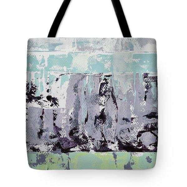 Lavender Landscape Tote Bag