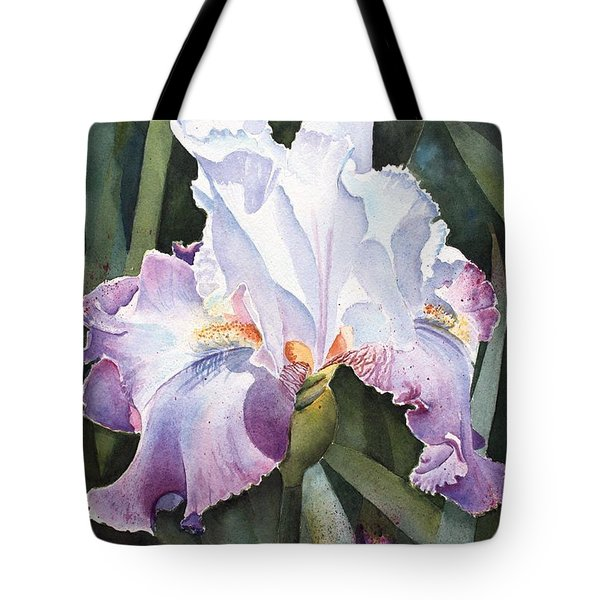 Lavender Light Tote Bag by Kathy Nesseth