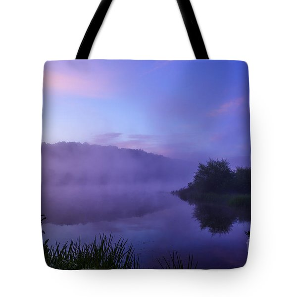 Lavender Mist Tote Bag by Thomas R Fletcher