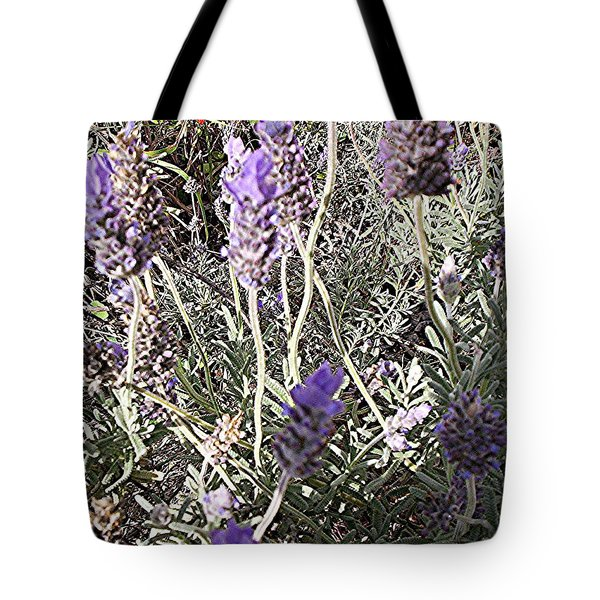Lavender Moment Tote Bag by Winsome Gunning