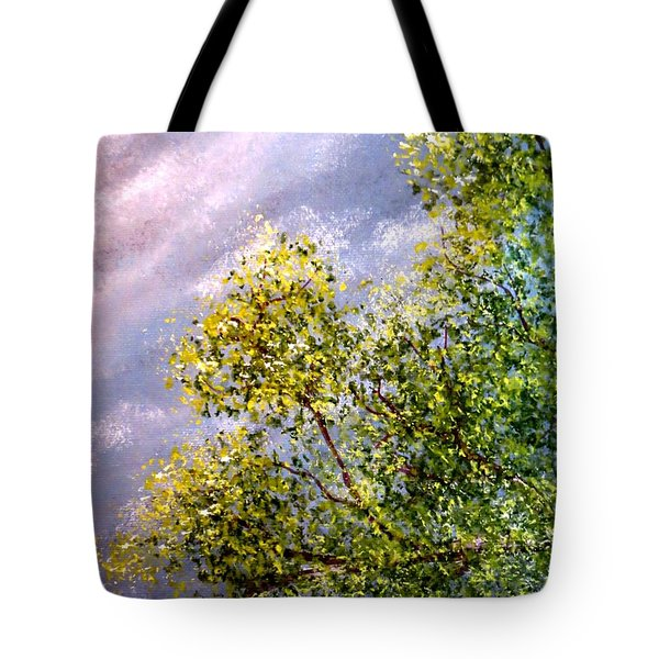 Lavender Skies Tote Bag