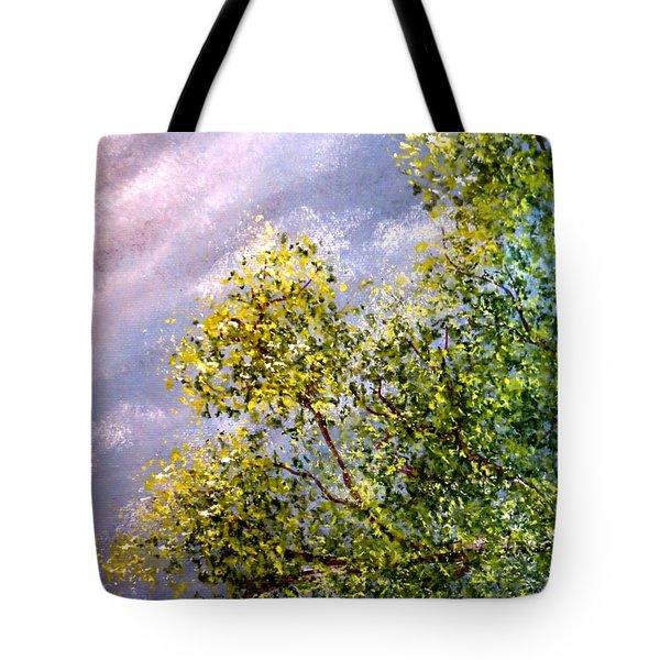 Lavender Skies Tote Bag by Tim Townsend