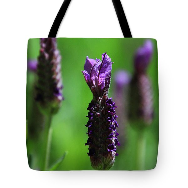 Lavender Spike Tote Bag