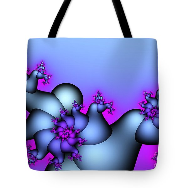 Lavender Sunrise Tote Bag by Jutta Maria Pusl