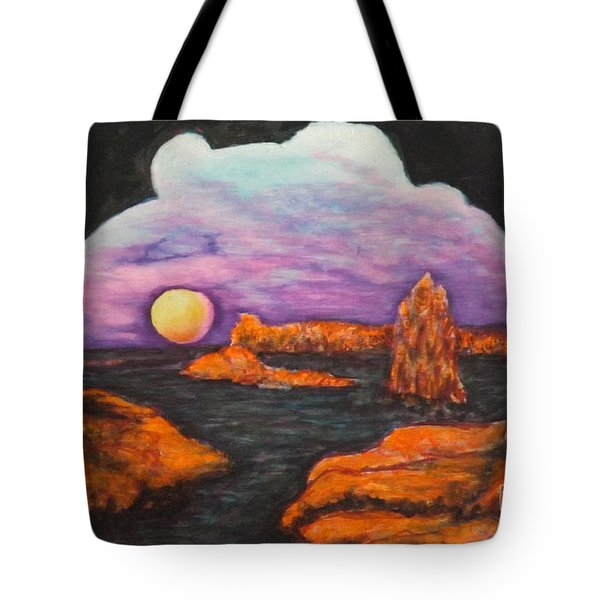 Lavender Sunrise Tote Bag
