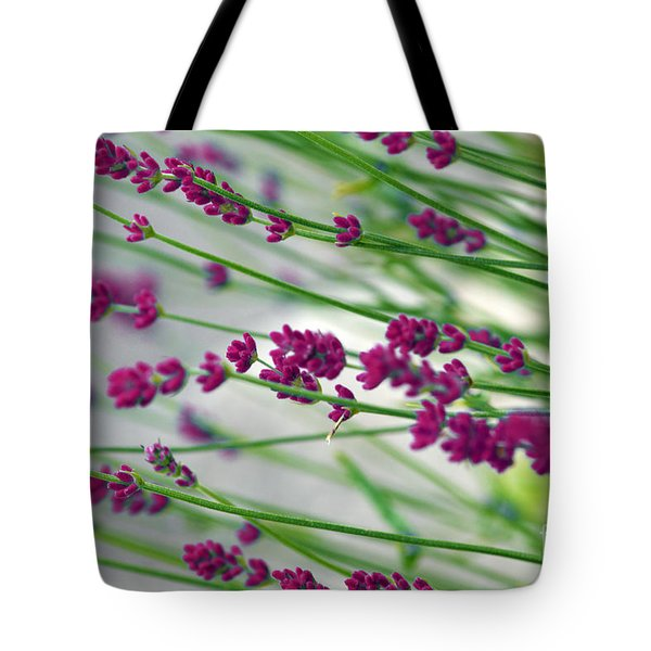 Tote Bag featuring the photograph Lavender by Susanne Van Hulst