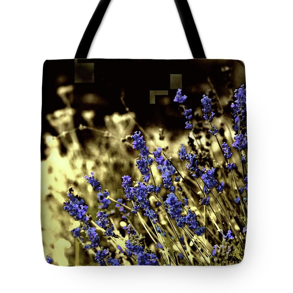 Lavender Yellow Tote Bag