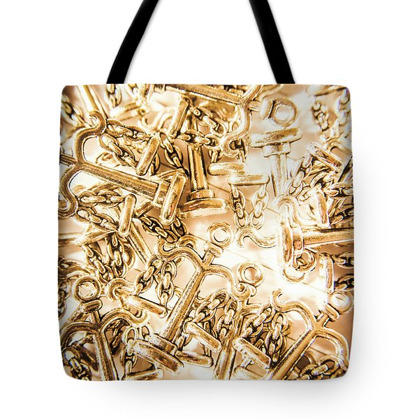 Law And Justice Abstract Tote Bag
