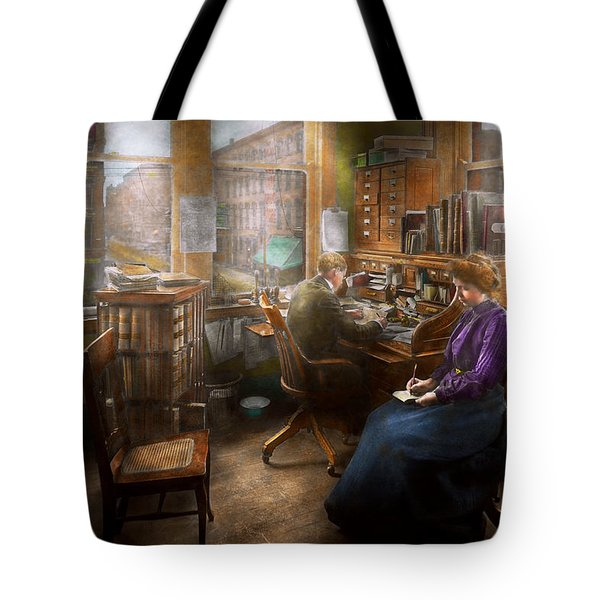 Lawyer - Always Taking Notes - 1902 Tote Bag