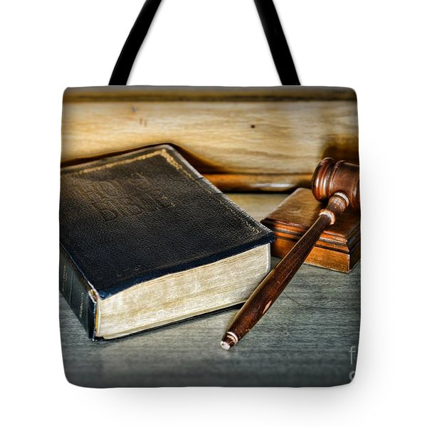 Lawyer - Truth And Justice Tote Bag by Paul Ward