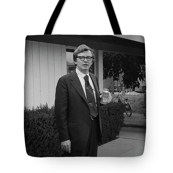 Lawyer With Can Of Tab, 1971 Tote Bag