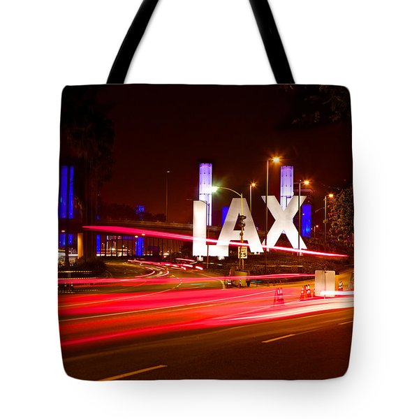 Tote Bag featuring the photograph Lax Activity by Kim Wilson