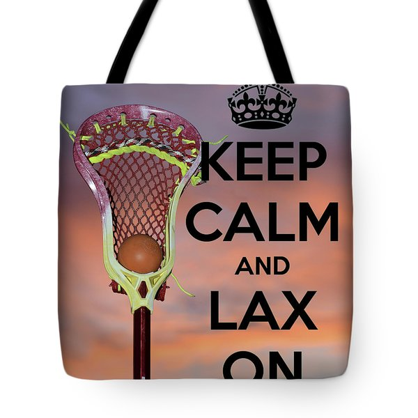 Lax On Tote Bag