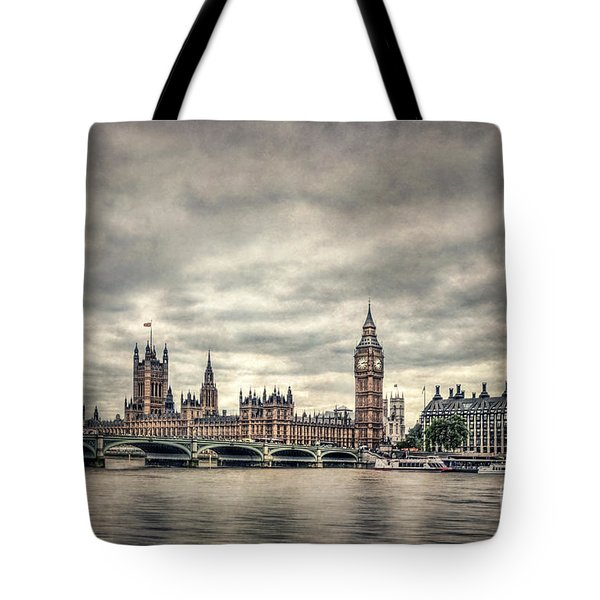 Lay Back And Think Of England Tote Bag