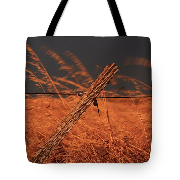 Tote Bag featuring the photograph Lay Me Down In Golden Pastures by Marion Cullen