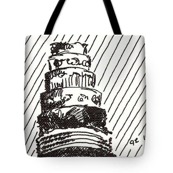 Layer Cake 1 2015 - Aceo Tote Bag