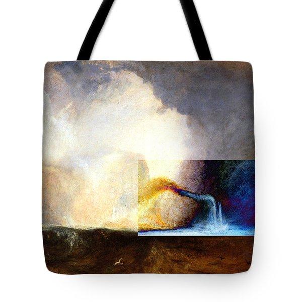 Layered 1 Turner Tote Bag