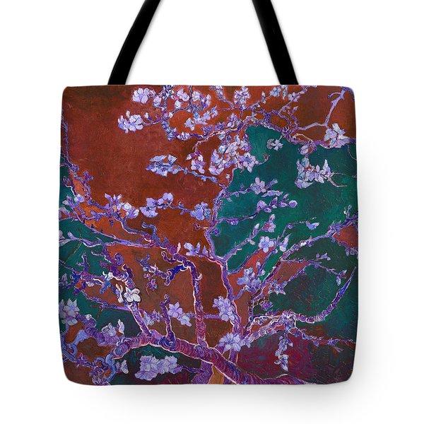 Layered 2 Van Gogh Tote Bag