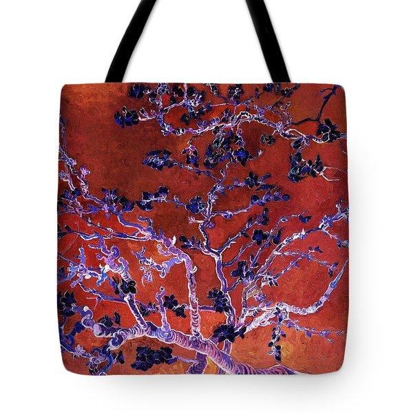Layered 9 Van Gogh Tote Bag