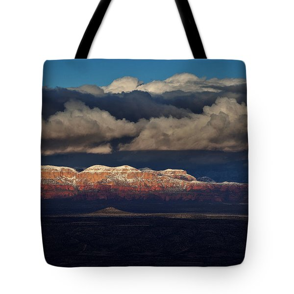 Layered Light Tote Bag by Ron Chilston