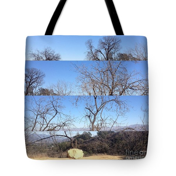 Layered Perspectives Tote Bag