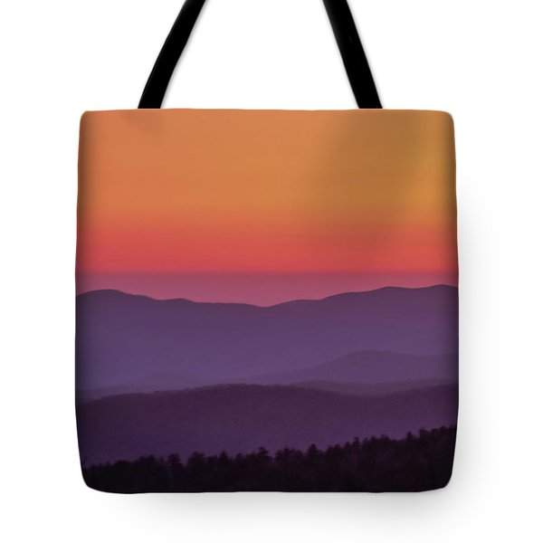 Tote Bag featuring the photograph Layers 2005 01 by Jim Dollar