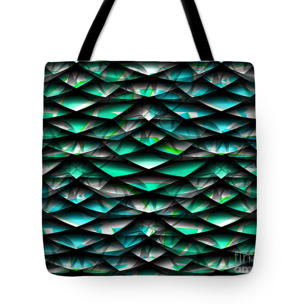 Layers Abstract Tote Bag