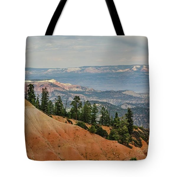 Tote Bag featuring the photograph Layers And Light At Bryce Canyon by Gaelyn Olmsted
