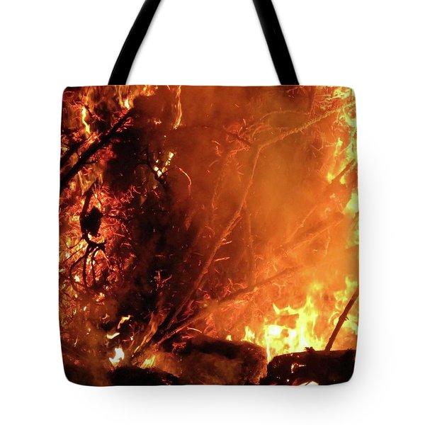 Layers Below Tote Bag