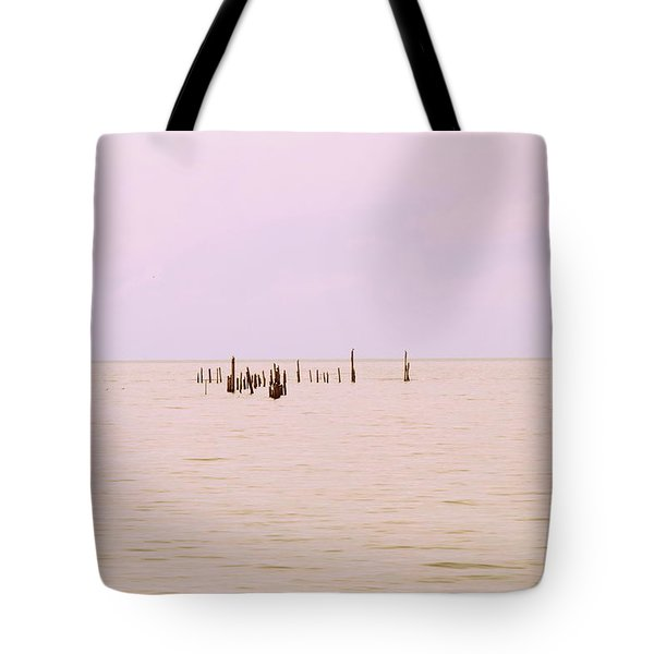 Tote Bag featuring the photograph Layers Of Calm by Deborah  Crew-Johnson