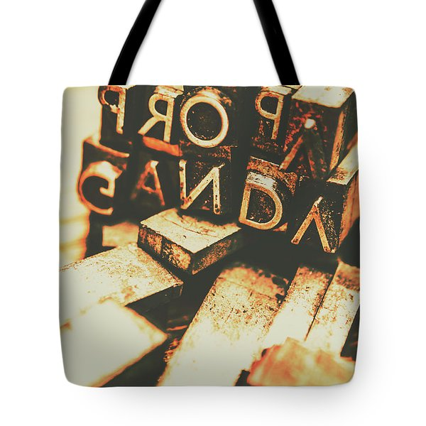 Layers Of Lies Tote Bag